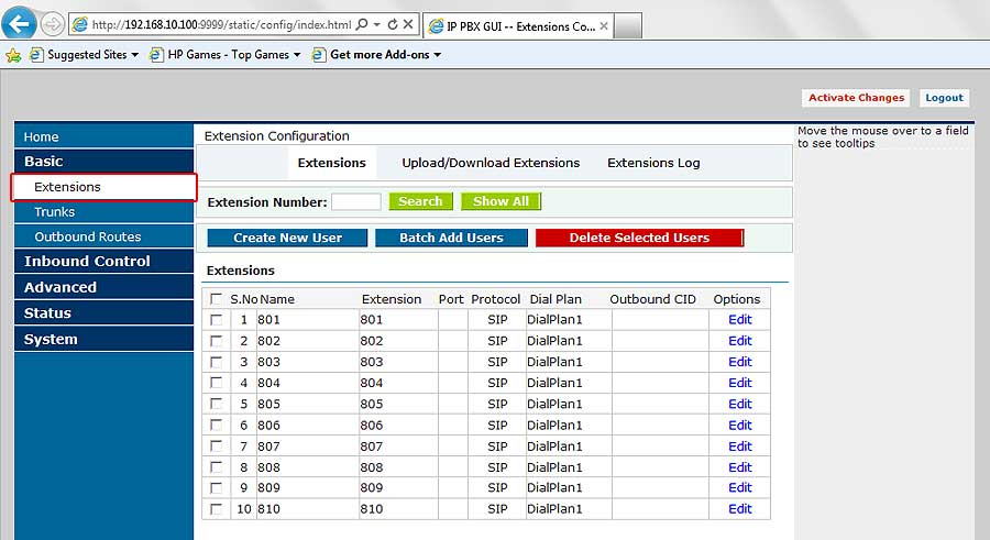 Ip Pbx Configuration Setup Guide For Alienvoip With Ip Pbx