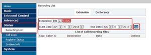 VoIP Malaysia Call Recording A400 7