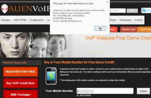voip malaysia free demo credits