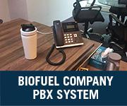 biofuel company voip pbx system