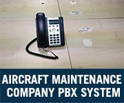 aircraft maintenance company voip pbx system