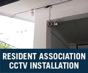 resident association cctv installation johor